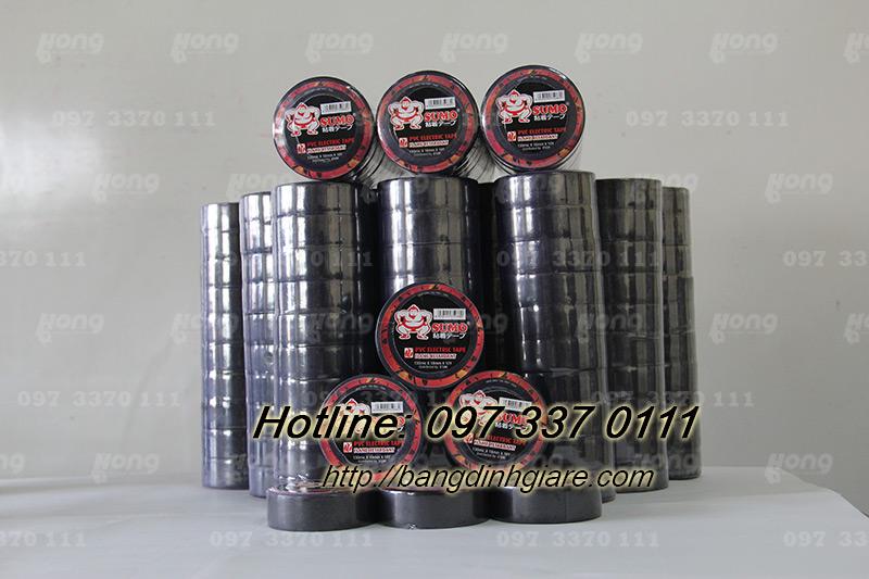 Hồng Hà chuyên sản xuất băng dính điện chống cháy