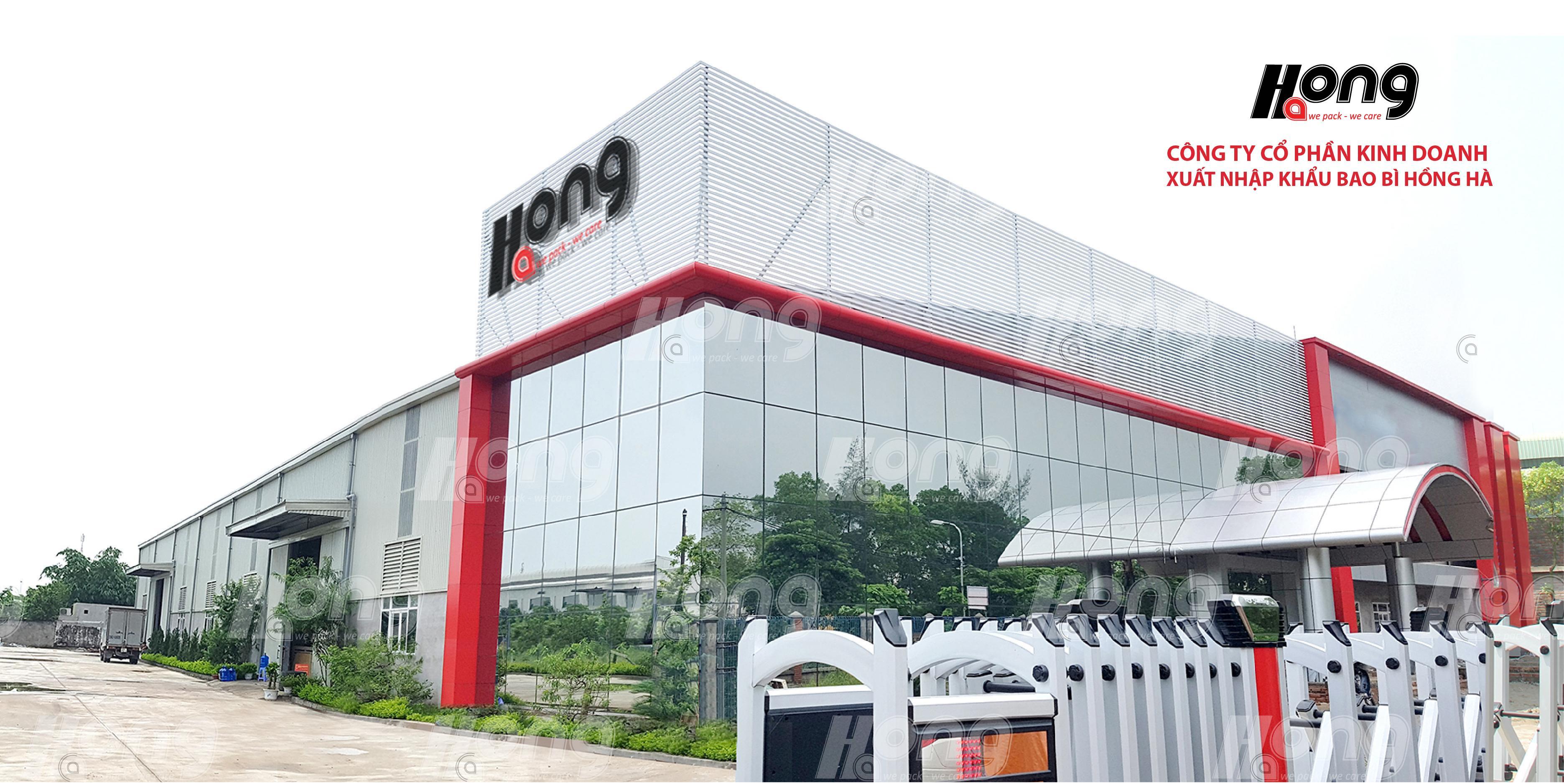 Nhà máy công ty Hồng Hà